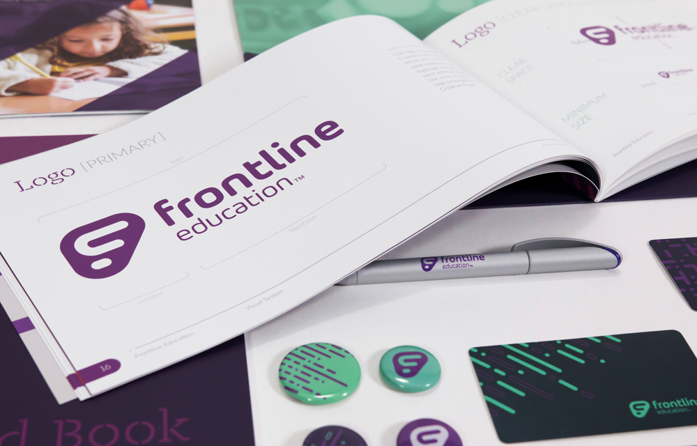 Frontline Education Rebrand